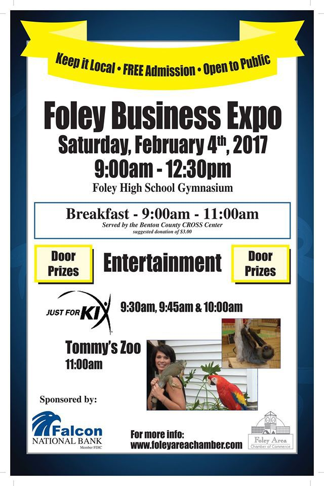 Foley Business Expo Flyer, Feb. 4th, 2017