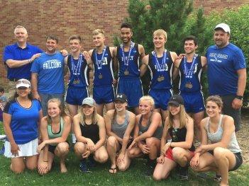 Foley Falcon Track & Field State Competitors, June, 2017.