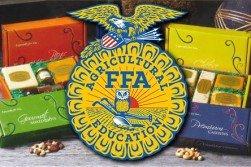 Foley FFA Fruit Sales logo. Nov., 2017.