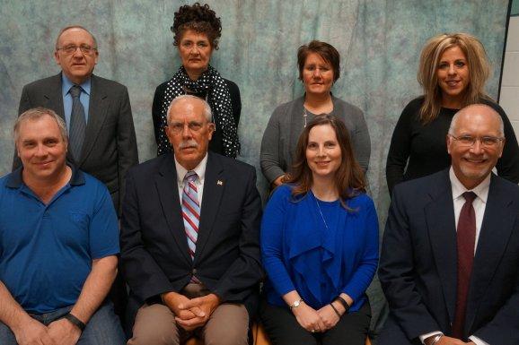 Foley School Board Members, 2017.