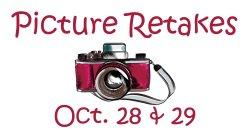Picture Retake Days: Oct. 28 & 29