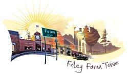 2018 Senior Lock-In: Foley Farm Town