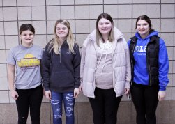 Foley High School February Students of the Month