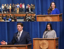 9th and 10th Grade Honor Roll Ceremony