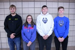 Foley High School November Students of the Month