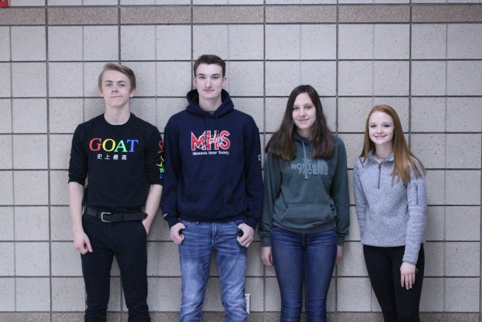 Foley High School January Students of the Month