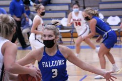 Foley Falcons beat Milaca Wolves 50-43 at home game on 1/26/21.