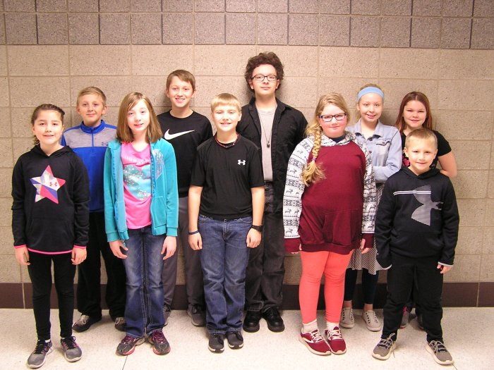 FIS November Students of the Month
