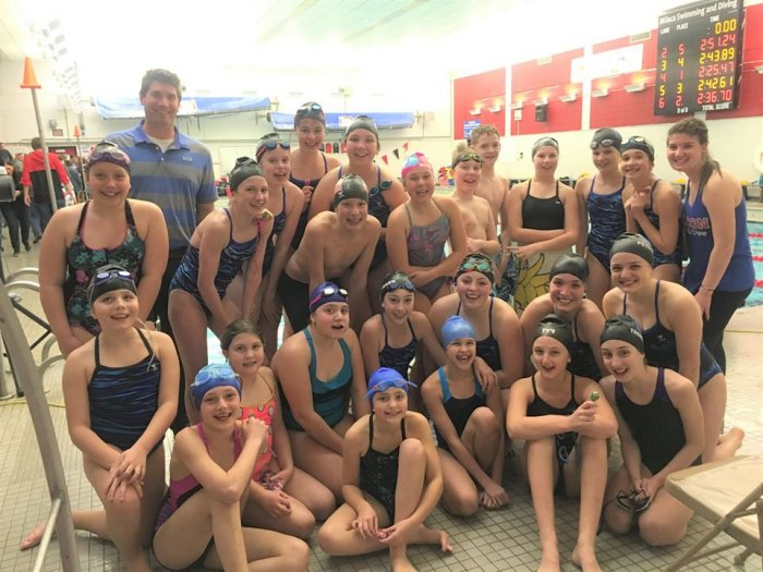FAST (Foley Aquatic Swim Team)