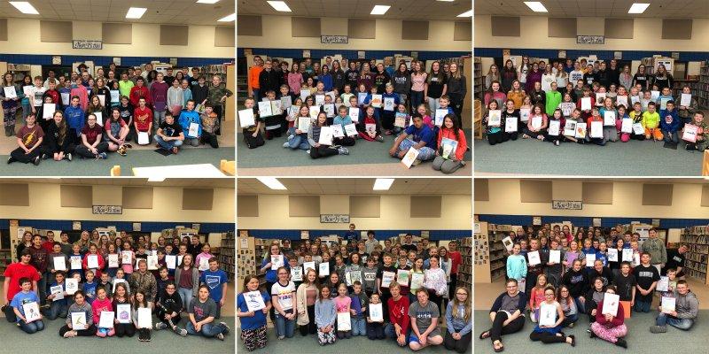 8th Grade Book Buddies