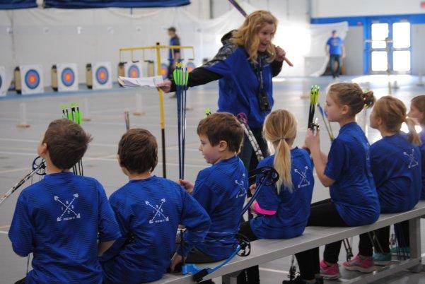 Foley Public Schools hosts first archery tournament.