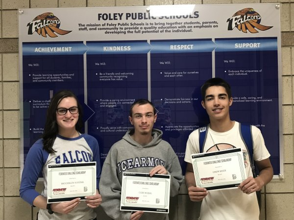 Federated Challenge Scholarship Winners