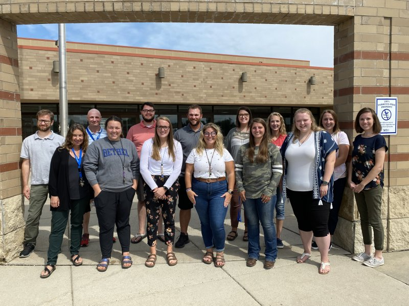 New teachers at Foley Public Schools 2021-22 School Year