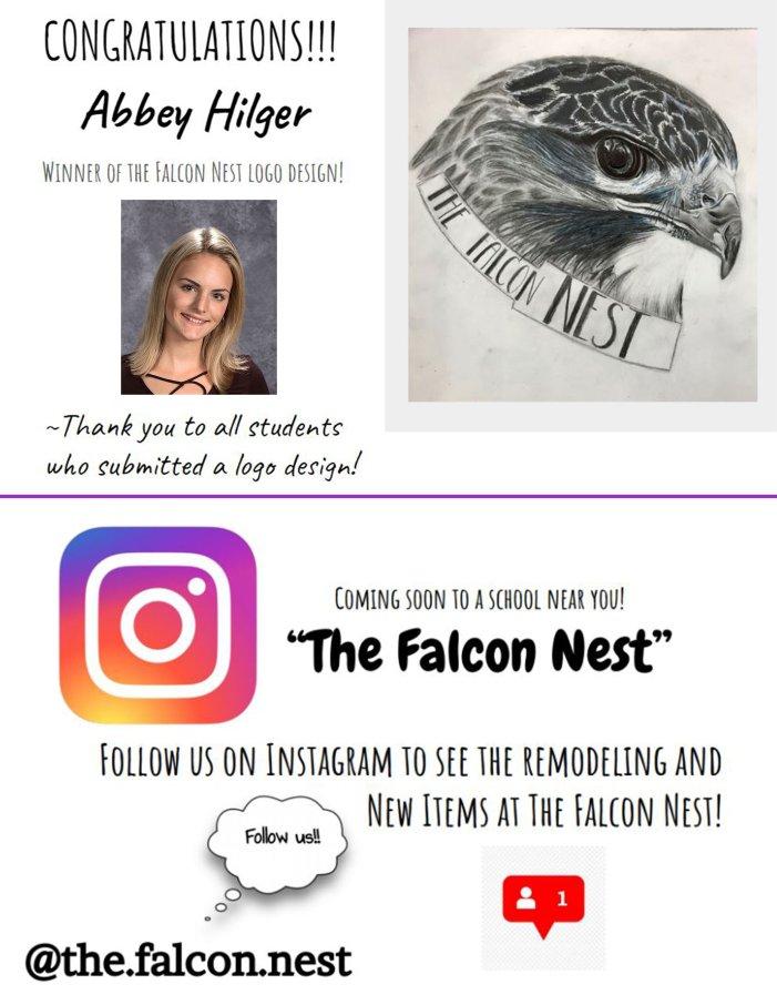 The Nest - Logo Contest Winner and Instagram Info