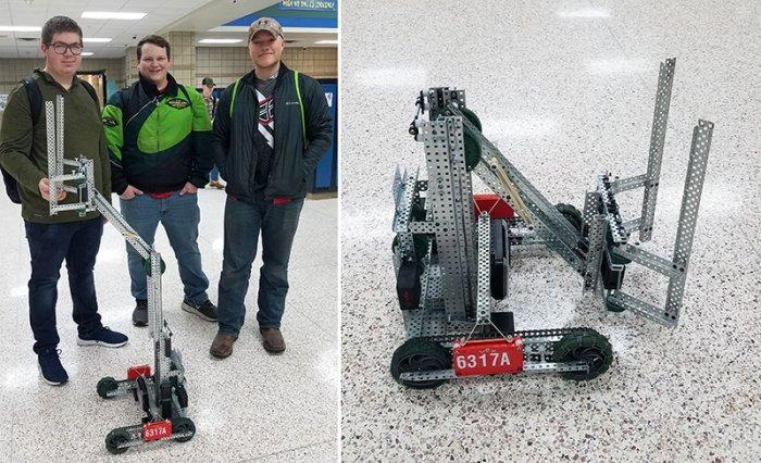 Vex Robotics - State Tournament bound!