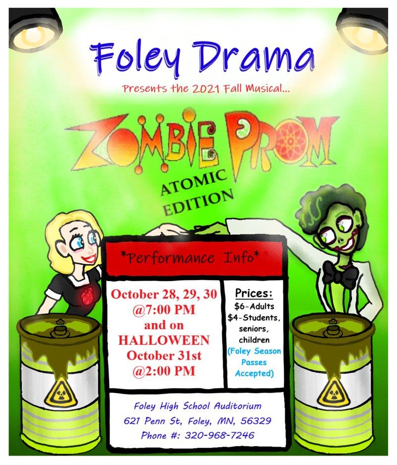 """Foley Drama Presents """"Zombie Prom"""""""