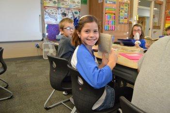 Foley Elementary 3rd graders